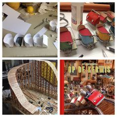 Crafts - Making of the rollercoaster - The Mouse Mansion