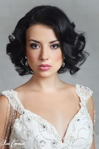 Wedding hairstyles for short hair photos el style - hairstyle bob