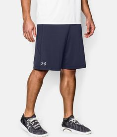 "Men's UA Raid 10"" Shorts, Midnight Navy, zoomed image"