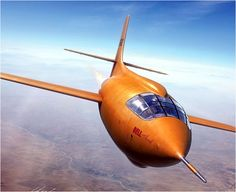 Bell X-1 'Glamorous Glennis', pilot: Capt. Chuck Yeager. First Supersonic Flight, October 14 1947 ('X-Planes' book cover)