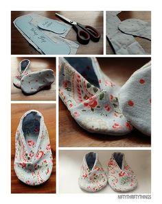 free kimono baby shoes tutorial. PDF at http://www.homespun-threads.com/patterns/kimonoshoes.pdf
