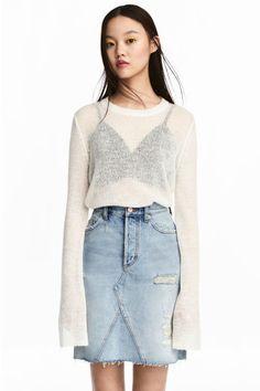 Jumper - White - Ladies | H&M GB 1