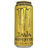 4 Pack – Monster Java Coffee + Energy – Mean Bean – 15oz.