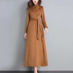 Winter coat,wool coat,designer coat,princess coat,long full length wool jacket plus size winter coat dress coat plus size clothing : Winter coatwool coatdesigner coatprincess coatlong full image 1 Hijab Fashion, Fashion Dresses, Fashion Coat, Jackets Fashion, Abaya Mode, Coatdress, Hijab Stile, Mode Mantel, Langer Mantel
