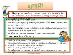 αιτηση by via slideshare Grammar, Teaching Ideas, Greek, Teacher, Writing, Education, School, Professor, Teachers