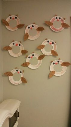 O is for Owl. Learning letter O craft for preschool