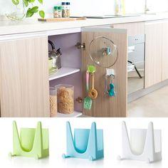 Appendini o staffe in plastica per utensili della cucina