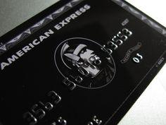 Carte Centurion American Express