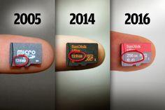 CW@50: Hành trình phát triển của bộ nhớ lưu trữ | Thẻ nhớ microSD tăng nhanh dung lượng kể từ khi được giới thiệu vào năm 2005. [Lưu ý: Đây là phần 2, cũng là phần cuối câu chuyện về sự phát triển của ngành công nghiệp lưu trữ trong 50 năm qua...
