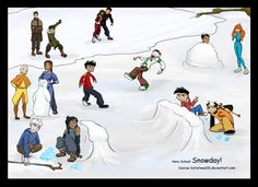 hooray for snowdays! i was gonna write down what everyone was thinking then i thought 'thats not fun, you guys should totally tell me what you think the. Disney Channel, Cartoon Network Fanart, Cartoon Characters As Humans, Heroes United, American Dragon, Randy Cunningham, Cartoon Crossovers, Danny Phantom, Cartoon Shows