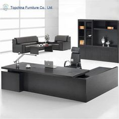 Knock down modular modern design wooden executive office desk