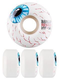Bones Skateboard Wheels Reyes Eyeball 52mm V4 STF | snapchat @ https://ift.tt/2izonFx