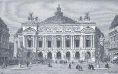 The magnificent Opéra Garnier in Paris was inaugurated on 5 January 1875. Joyeux anniversaire Permalien de l'image intégrée