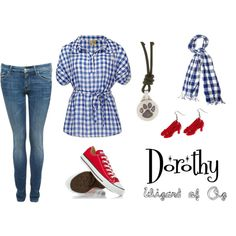 """""""Dorothy - Wizard of Oz"""" by emilygracey on Polyvore"""