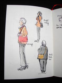 Sketchbook Wandering: Wandering