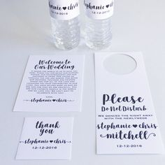 Wedding Welcome Bag Kits by DesignedByME on Etsy