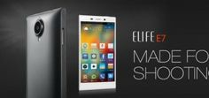 Gionee Elife E7 smartphone by Gionee released in Indian market