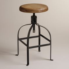 Twist Swivel Stool | World Market.  For the kitchen counter and bar