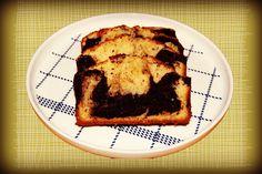 Skarntyden og lupinen:  Marmorkage med mandler og chokolade