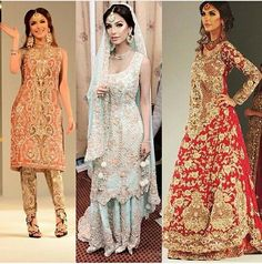 Faryal modeling for Pakistani couture