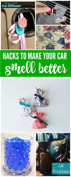 DIY Hacks to Make Your Car Smell Better! Tips and Tricks that you can do at home and freshen your car immediately!