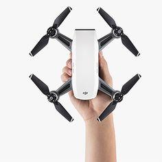 DJI Spark Drone Quadcopter (Alpine White) B&H