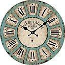 Antiguo Reloj de pared de Burdeos 1886