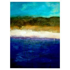 Found it at Wayfair - Abstract Dunes Study by Michelle Calkins Canvas Art