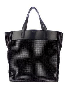 Saint Laurent Studded Tote Bag