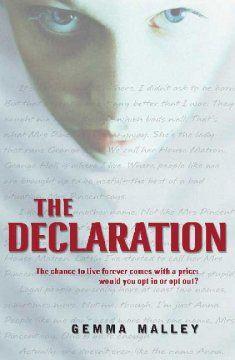 The Declaration / by Gemma Malley.