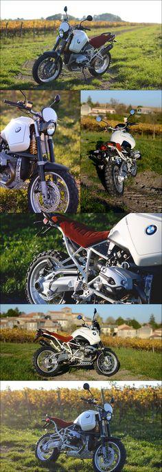 BMW R1200GS-LW by Motorieep - 168kg empty