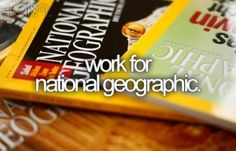 Work for National Geographic