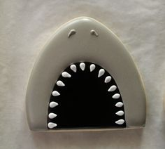 Shark with Open Mouth (Egg Cookie Cutter)