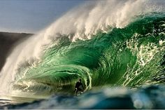 You'll find this monstrous wave at the foot of the Cliffs of Moher. #wildatlanticway