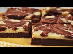 Cream Cheese Brownies Recipe Demonstration - Joyofbaking.com - YouTube