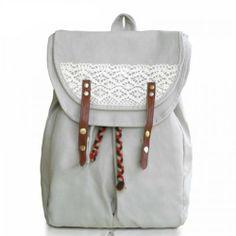 ZLYC Super Cute Handmade Crochet Canvas Backpack School Bag Leisure Backpack Travel Backpack ZLYC http://www.amazon.co.uk/dp/B00EVKTHYK/ref=cm_sw_r_pi_dp_UTk4tb0ENSR765HS