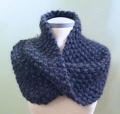 Slouchy Cowl knitted by nina: a well-knit shop on Ravelry