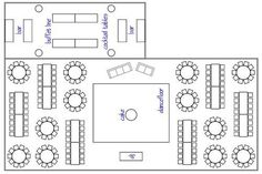 How to choose your wedding reception layout design   Rustic Folk Weddings