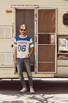 June 9, 2013. Shirt: Vintage Hawaii Shirt - $10 (eBay…....