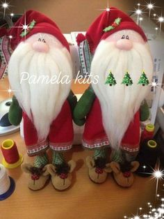 Christmas Fabric, Felt Christmas, Vintage Christmas, Merry Christmas, Christmas Ornaments, Christmas Decorations, Holiday Decor, Xmas Crafts, Bottle Crafts