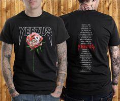 Yeezus Shirt Kanye West Tour t shirt Yeezus Tour Merchandise Saint Pablo Tour #Handmade #GraphicTee
