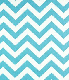 Zig Zag Fabric for DIY re-upulstered bench where computer was.-Find it in a bit more of a teal