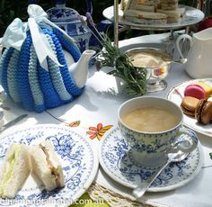 A private high tea for two, www.bluemountinai..., Blue Mountains Australia. Aussie High Tea.