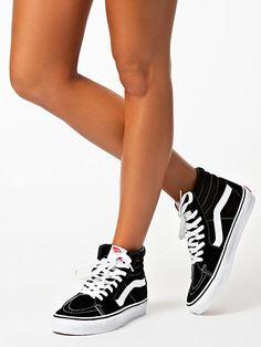 U Sk8 - Hi - Vans - Black/White - Everyday Shoes - Shoes - Women - Nelly.com