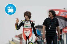 """A Jerez in Portogallo, dove l'indimenticato figlio Marco vinse il primo gran premio in carriera nel 2004, il babbo Paolo ripete il miracolo con il suo nuovo pilota appena 16nne, Antonio """"Tony"""" Arbolino ed il neonato team """"SIC58"""" in Moto3Europa!..."""