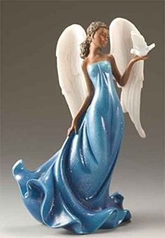"""""""Angel In Your Corner"""" - Right Natural African American Figurines, African American Art, Types Of Angels, African American Expressions, Clay Angel, Polymer Clay Figures, Black Angels, Hippie Art, Ceramic Painting"""