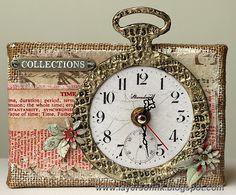 Eclectic Elements Clock