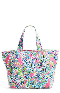 Lilly Pulitzer® Print Canvas Beach Tote | Nordstrom