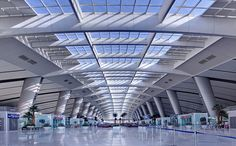 Photographer Pursuing Excellence in Design US | CHINA by Paul Dingman, via Behance...Beijing South Railway Station