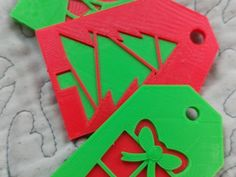 Gift Tags by Abuzz_Designs - Thingiverse